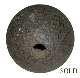 Gettysburg 12 lb. Confederate EXPLODING Cannonball
