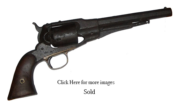 1861 Remington Navy .36 caliber Revolver