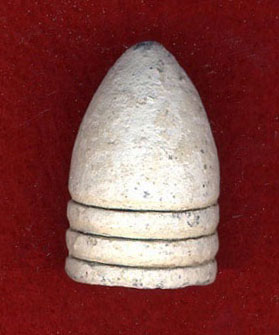 69 cal Mini ball largest American bullet in Civil War