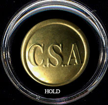 Non Dug Extra Quality CSA Coat Button