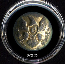 Eagle Cavalry Coat Button
