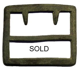 Georgia Frame buckle