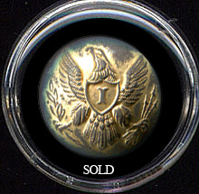 Dug Union Eagle Infantry Coat Button