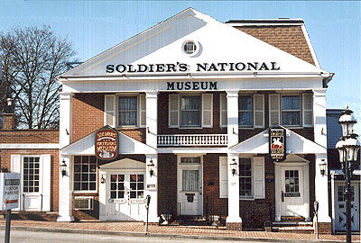 Historic Gettysburg Attractions Soldiers National Museum