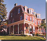 The Brickhouse Inn Gettysburg Bed and Breakfasts, 	a charming historic Victorian Bed and Breakfast.