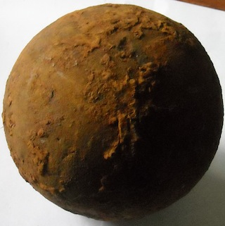 12lb. Solid Shot Cannonball - Cemetery Ridge