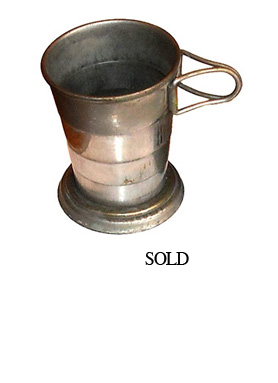 Civil War Folding Cup