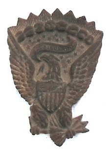 Iron Brigade Hardee Hat Pin - Railroad Cut - Shield's Museum