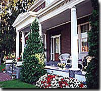 The Keystone Inn Gettysburg Bed and Breakfast , a great Victorian 	house with 7 rooms in Gettysburg Pennsylvania.
