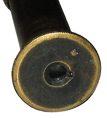 Civil War Three Draw Brass Telescope