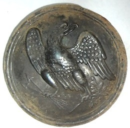 Civil War Eagle Breast Plate - Shields Museum